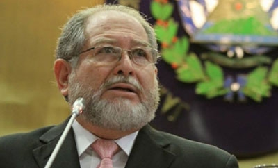 El Salvador's Justice and Security Minister, Ricardo Perdomo