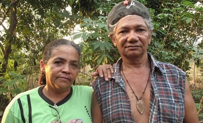 Slain activists Ribeiro da Silva and his wife, Espirito Santo