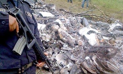 Narco-plane shot down by Honduras in 2012