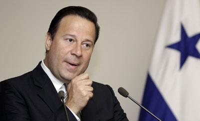 Panama's Vice President Juan Carlos Varela