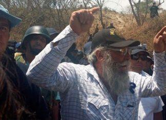 "Estanislao ""Papa Smurf"" Beltran speaking in Arteaga"