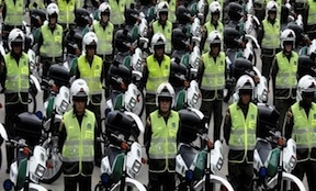 Colombia's police may move ministries