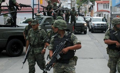 Mexico federal forces in Tamaulipas
