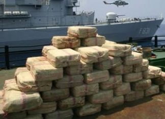 Cocaine seized in Puerto Rico