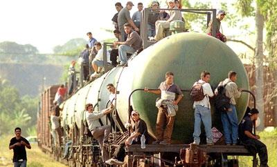 Migrants on board