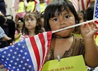 A surge in unaccompanied child migrants is predicted in 2014