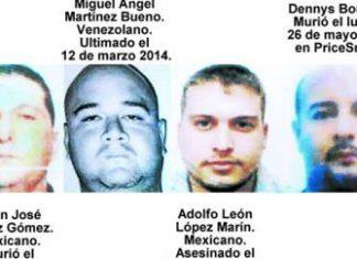Four of the men killed so far