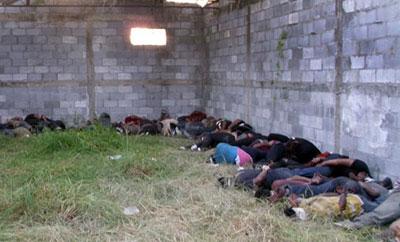 The scene of the 2010 massacre