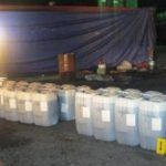 Liquid cocaine recovered in Progreso