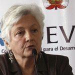 Former president of DEVIDA, Carmen Masias