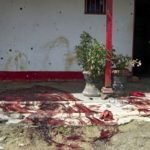 The site of a 2012 massacre in Antioquia