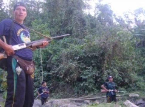 A civilian self-defense force in the VRAEM