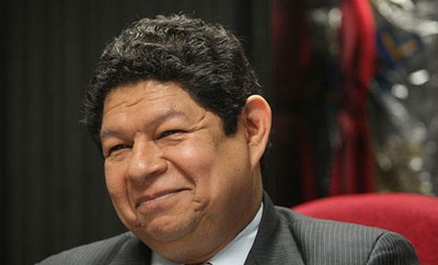 Salvadoran Security Minister Benito Lara