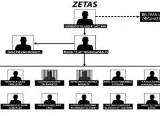 The Zetas have many different criminal nodes