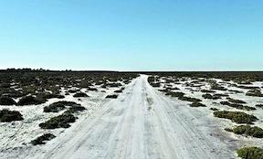 A clandestine landing strip in Argentina