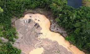 Peru's illegal mining is worth an estimated $3 billion a year