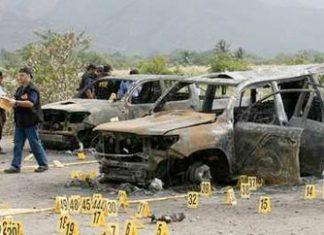 Results of a Zetas-provoked gun battle in Zacapa (2008)