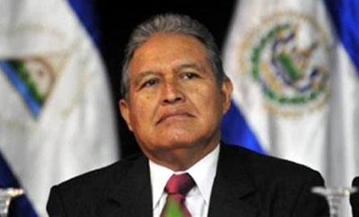 El Salvador's new president Salvador Sanchez Ceren