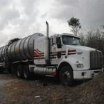 A stolen gasoline tanker