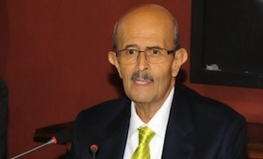Michoacan Governor Fausto Vallejo