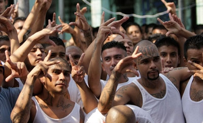 El Salvador gang members
