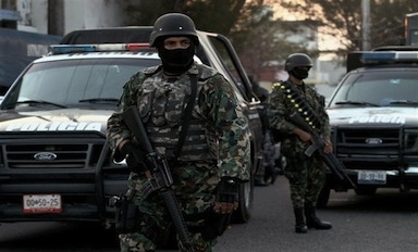 Combat between Mexico's marines and criminals is rising
