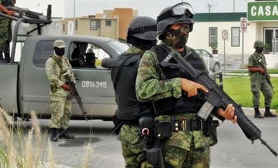 The army killed 22 alleged criminals in the State of Mexico