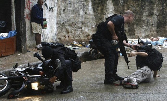 Military police in Sao Paulo are accused of 10,000 killings