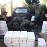 Drug packages seized during the operation