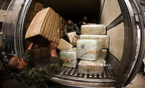 Authorities have seized close to 19 tons of marijuana