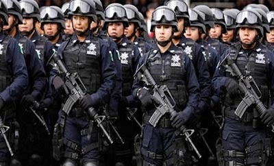 Mexico's gendarmerie will be launched with 5,000 officers