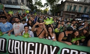 Uruguay marijuana legalization supporters