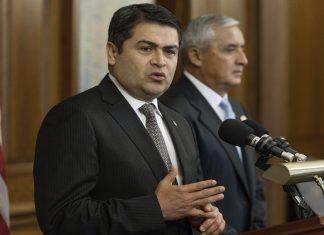 Honduran President Juan Orlando Hernandez called for US aid