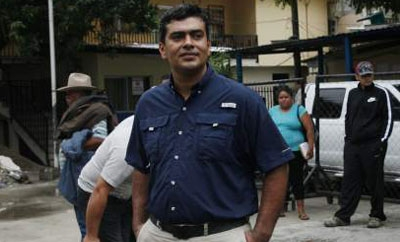 Arrested Yoro Mayor Arnaldo Urbina Soto