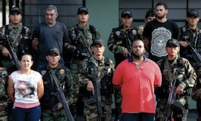 Members of a Peruvian gang engaged in transnational drug trafficking