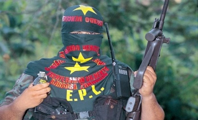 EPL guerrilla member