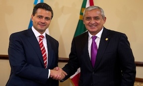 Mexico and Guatemala announce a new border program
