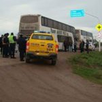 "A ""buyers' caravan"" is detained in Salta"