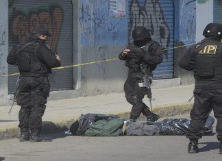 A crime scene in Mexico State