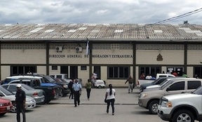 Honduras' migration office