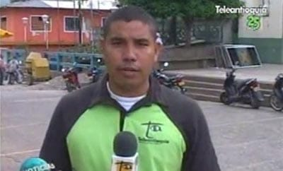 Murdered journalist Luis Carlos Cervantes