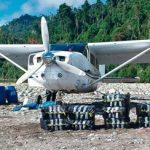A Bolivian drug plane caught in Peru in July