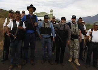 Vigilante groups in Michoacan