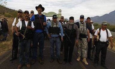 Vigilante groups in Michoacan