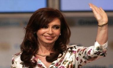 Argentine President Cristina Kirchner