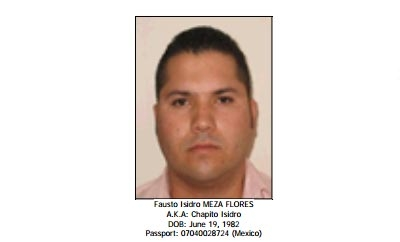 Chapo Isidro is designated as a trafficker by the US
