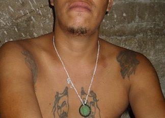 A gang member in Somoto, Nicaragua