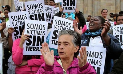 Colombia passed a Victims Law in 2011