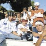 Nicaraguan gang members