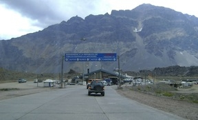 A Chilean border crossing